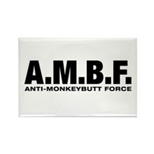 A.M.B.F. Rectangle Magnet