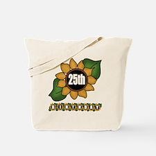 25th Birthday Tote Bag