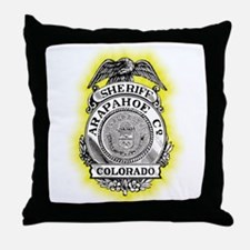 Arapahoe County Sheriff Throw Pillow