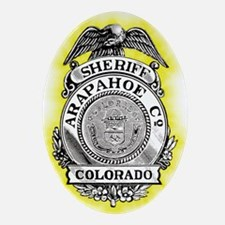 Arapahoe County Sheriff Ornament (Oval)