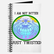 I am not Bitter Just Twisted Journal