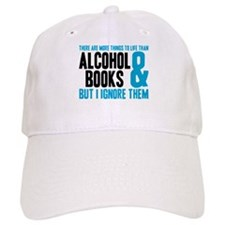 There Are More Things To Life Baseball Baseball Cap