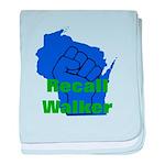Solidarity - Union - Recall W baby blanket