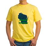Solidarity - Union - Recall W Yellow T-Shirt
