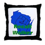 Solidarity - Union - Recall W Throw Pillow