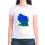 Solidarity - Union - Recall W Jr. Ringer T-Shirt