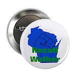 "Solidarity - Union - Recall W 2.25"" Button"