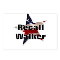 Solidarity - Union - Recall W Postcards (Package o