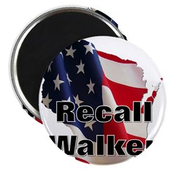 """Solidarity - Union - Recall W 2.25"""" Magnet (10 pac"""