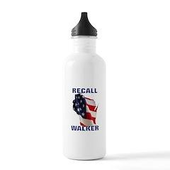 Solidarity - Union - Recall W Water Bottle