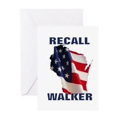 Solidarity - Union - Recall W Greeting Card