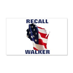 Solidarity - Union - Recall W 22x14 Wall Peel