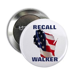 "Solidarity - Union - Recall W 2.25"" Button (1"
