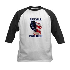 Solidarity - Union - Recall W Kids Baseball Jersey