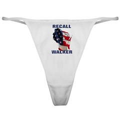 Solidarity - Union - Recall W Classic Thong