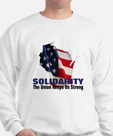 Solidarity - Union - Recall W Sweatshirt