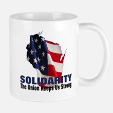 Solidarity - Union - Recall W Mug