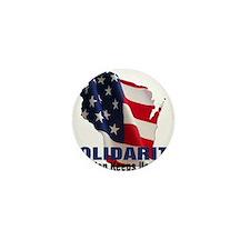 Solidarity - Union - Recall W Mini Button