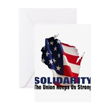 Solidarity - Union - Recall W Greeting Card