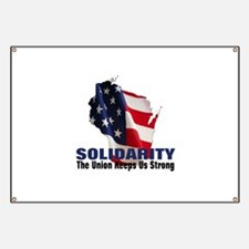 Solidarity - Union - Recall W Banner
