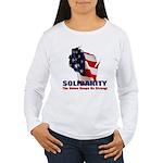 Solidarity - Union - Recall W Women's Long Sleeve