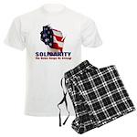 Solidarity - Union - Recall W Men's Light Pajamas