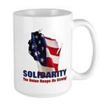 Solidarity - Union - Recall W Large Mug