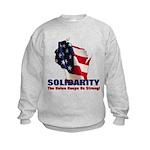 Solidarity - Union - Recall W Kids Sweatshirt