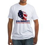 Solidarity - Union - Recall W Fitted T-Shirt