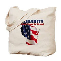Solidarity - Union - Recall W Tote Bag