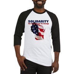 Solidarity - Union - Recall W Baseball Jersey
