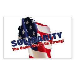Solidarity - Union - Recall W Decal