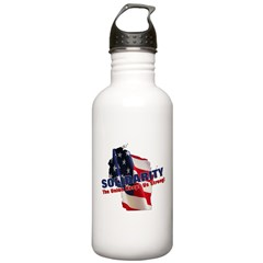 Solidarity - Union - Recall W Water Bottle