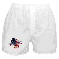 Solidarity - Union - Recall W Boxer Shorts