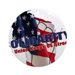 Solidarity - Union - Recall W Ornament (Round)