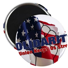 Solidarity - Union - Recall W Magnet