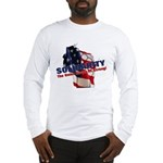 Solidarity - Union - Recall W Long Sleeve T-Shirt