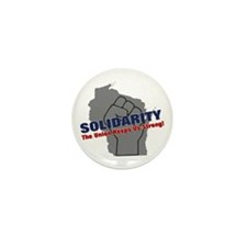 Solidarity - Union - Recall W Mini Button (10 pack