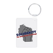 Solidarity - Union - Recall W Aluminum Photo Keych