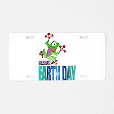 Celebrate EARTH DAY Aluminum License Plate