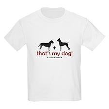 Pit Bull (AmStaff)/Boxer Kids T-Shirt
