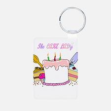 The Cake lady Keychains