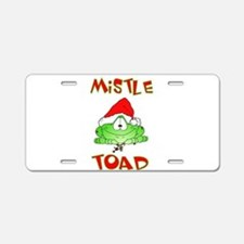 Mistle Toad Aluminum License Plate