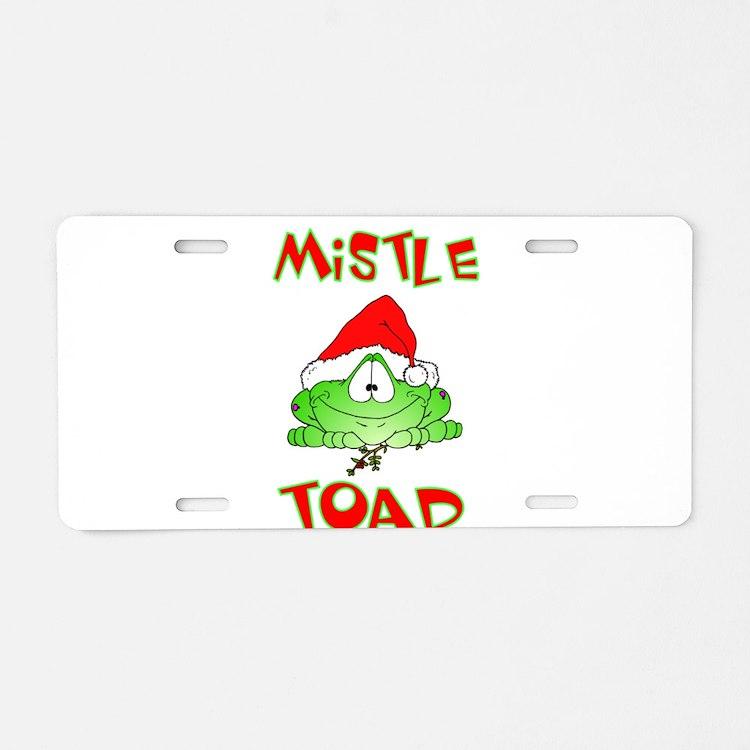 Mistle Toad Aluminum License Plate