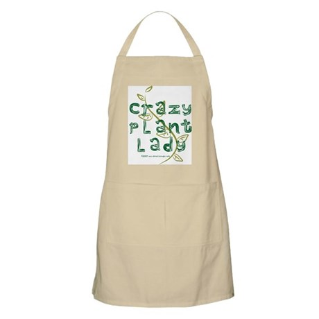 Crazy Plant Lady Apron