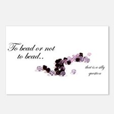 To bead or not to bead Postcards (Package of 8)
