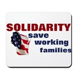 Solidarity - Union - Recall W Mousepad