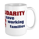 Solidarity - Union - Recall W Large Mug