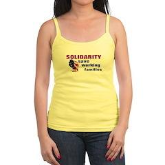 Solidarity - Union - Recall W Jr.Spaghetti Strap