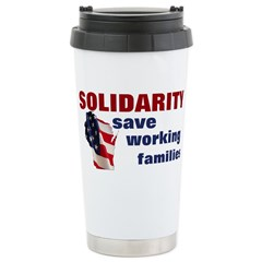Solidarity - Union - Recall W Stainless Steel Trav